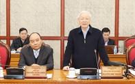 Bộ Chính trị làm việc với Ban Thường vụ Thành ủy Đà Nẵng