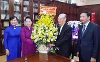 Chủ tịch Quốc hội chúc mừng Giáng sinh tại Tổng Giáo phận TPHCM