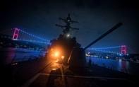 """Giới chức Nga cảnh báo """"chạm trán"""" mới giữa tàu chiến Nga, Mỹ tại Biển Đen"""