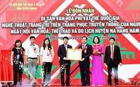 Tuyên Quang: Đón nhận Di sản sản văn hóa phi vật thể quốc gia Nghệ thuật trang trí trên trang phục truyền thống của người Dao đỏ