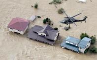 Nỗ lực cứu hộ sau bão: Quân đội Nhật vào cuộc