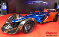 Cận cảnh chiếc xe F1 đầu tiên do Việt Nam sản xuất