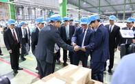 Thống đốc tỉnh Kagoshima - Nhật Bản thăm Công ty Cổ phần Nhựa An Phát Xanh