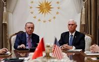 """Bất ngờ 5 ngày ngừng chiến tại bắc Syria: """"Chông chênh"""" thỏa thuận giữa trái chiều Mỹ, Thổ"""
