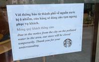 Starbucks tạm ngừng hoạt động một loạt cửa hàng tại Hà Nội do nguồn nước ô nhiễm
