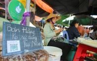 """Khu chợ nói """"không dùng túi nilon"""" đầu tiên tại miền Bắc"""