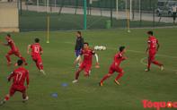 Đội tuyển Việt Nam tập phản xạ trước thềm đại chiến UAE