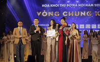 """Sinh viên Khoa Luật trường ĐH Văn hóa Hà Nội đoạt ngôi """"Á khôi 1"""" Hoa khôi Thủ đô 2019"""