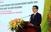 Thành lập Trung tâm hành động quốc gia khắc phục hậu quả chất độc hoá học và môi trường