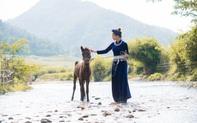 Hoa hậu Lương Thùy Linh hóa thiếu nữ dân tộc Tày đi chăn ngựa