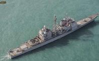 """Tàu sân bay chưa đặt tên của Trung Quốc bất ngờ có màn """"đáp trả"""" Mỹ tại Eo biển Đài Loan"""