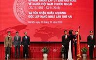 Ủy ban Nhà nước về người Việt Nam ở nước ngoài đón nhận Huân chương Độc lập hạng Nhất lần thứ hai