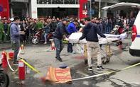 Nữ tài xế lái xe ô tô Mercedes GLC 250 gây tai nạn liên hoàn rồi bốc cháy đã ra công an trình diện