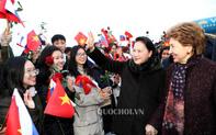 Chủ tịch Quốc hội Nguyễn Thị Kim Ngân gặp gỡ cộng đồng người Việt tại Cộng hòa Tatarstan và Liên bang Nga
