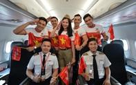 Cầu thủ, ban huấn luyện của đội bóng nữ SEA Games và  người thân được bay miễn phí cùng Vietjet