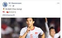 SC Heerenveen chúc mừng chiến tích của Đoàn Văn Hậu cùng U22 Việt Nam