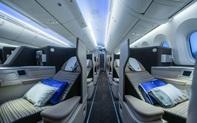 Hé lộ những hình ảnh đầu tiên của nội thất Boeing 787-9 Dreamliner mới gia nhập đội bay Bamboo Airways