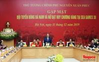 Thủ tướng Nguyễn Xuân Phúc gặp mặt thân mật các cầu thủ đội tuyển U22 Việt Nam và ĐT nữ Việt Nam