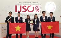 Cả 6 học sinh Việt Nam đều đoạt huy chương tại Kỳ thi Olympic Khoa học trẻ quốc tế IJSO 2019