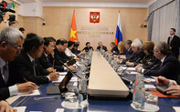 Việt Nam-Liên bang Nga: Cùng củng cố nền tảng pháp lý của quan hệ song phương