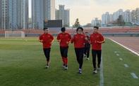 U23 Việt Nam tập nhẹ nhàng ngày đầu ở Hàn Quốc