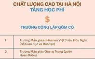 Trường THPT chất lượng cao tại Hà Nội sẽ thu học phí 5,7 triệu đồng/tháng vào năm học 2021-2022