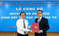 Công bố quyết định của Thủ tướng về nhân sự Phó Giám đốc Đại học Quốc gia TP.HCM