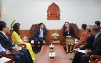 Hội đàm giữa Bộ trưởng Bộ VHTTDL Việt Nam và Bộ trưởng Bộ Giáo dục và Thể thao Lào