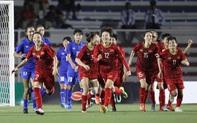[Trực tiếp] Nữ Việt Nam vs nữ Thái Lan: Hải Yến ghi bàn mở tỷ số ngay phút đầu hiệp phụ