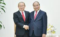 Thủ tướng Nguyễn Xuân Phúc gặp mặt HLV Park Hang-seo sau kỳ nghỉ Tết tại Hàn Quốc