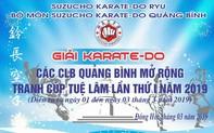 Quảng Bình: Đăng cai giải thi đấu Karate với 6 tỉnh miền Trung tham gia