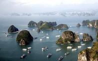 Khám phá kỳ quan thiên nhiên thế giới Vịnh Hạ Long bằng máy bay trực thăng