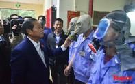 Đoàn giám sát kiểm tra đột xuất an toàn PCCC tại khu đô thị Xa La