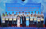 13 Dự án đoạt giải Nhất cuộc thi Khoa học kỹ thuật cấp quốc gia học sinh trung học khu vực phía Nam