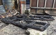 Hỏa hoạn lúc rạng sáng, căn nhà cùng nhiều xe máy bị thiêu rụi