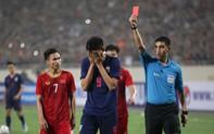 U23 Việt Nam 3-0 Thái Lan: Supachai nhận thẻ đỏ tước quyền thi đấu