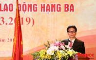 """Phó Thủ tướng Vũ Đức Đam: """"Trường Đại học Văn hóa Hà Nội phải là một trung tâm đào tạo nghiên cứu uy tín với cơ chế quản trị hiện đại"""""""