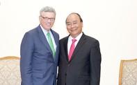 Thủ tướng mong rằng  VISA tiếp tục hỗ trợ Việt Nam phát triển thanh toán điện tử.