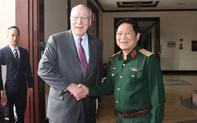 Bộ trưởng Quốc phòng: Hợp tác quốc phòng giữa hai nước Việt Nam- Hoa Kỳ ngày càng phát triển