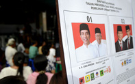 Joko Widodo dẫn đầu kết quả bầu cử Indonesia: cách biệt thấp hơn mong đợi
