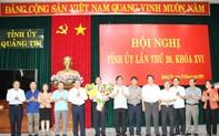 Nhân sự mới vừa được bầu bổ sung ở Quảng Trị, Quảng Ngãi
