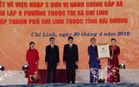 Chủ tịch Quốc hội Nguyễn Thị Kim Ngân dự Lễ công bố Nghị quyết thành lập TP. Chí Linh, Hải Dương