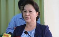 Chủ tịch Quốc hội trả lời cử tri về sức khỏe Tổng bí thư, Chủ tịch nước