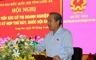 Phó Thủ tướng Trương Hòa Bình tiếp xúc cử tri doanh nghiệp Long An