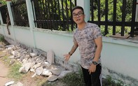 Nhạc sĩ Khánh Đơn bị chỉ trích đến hiện trường vụ án thi thể bị đổ bê tông quay phim