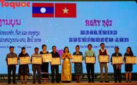 Đêm chia tay giã bạn thắm tình đoàn kết hữu nghị Việt Nam – Lào