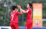 CLB nữ Hà Nội giành chiến thắng đậm trong trận ra quân giải bóng đá Nữ Cup Quốc gia 2019.