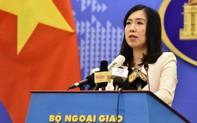 Bộ Ngoại giao thông tin loạt diễn biến mới liên quan đến tàu HD-8 Trung Quốc