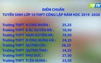 Thái Bình công bố điểm chuẩn chính thức tuyển sinh lớp 10 THPT công lập