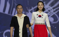 Hoa hậu Thủy Tiên toả sáng với thiết kế của Đỗ Trịnh Hoài Nam tại Hàn Quốc